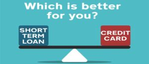 Short Term Loans Vs Credit Cards