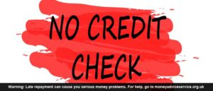 No Credit Check Loan